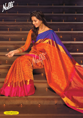 Latest Nalli Deepali Silk Saree Collection