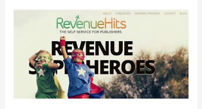 How to earn money from Revenuehits
