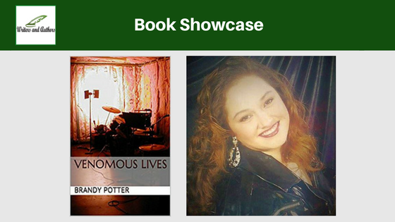 Book Showcase: Venomous Lives by Brandy Potter