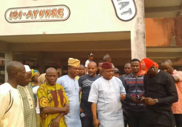 Sacked Local Government chairmen resume office in Oyo