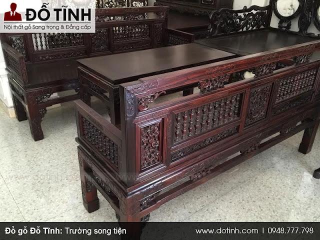 Bộ bàn ghế trường kỷ xưa luôn tạo ra giá trị và vẻ đẹp cuốn hút