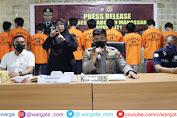Operasi Antik, Polres Pelabuhan Makassar Amankan 29 Tersangka
