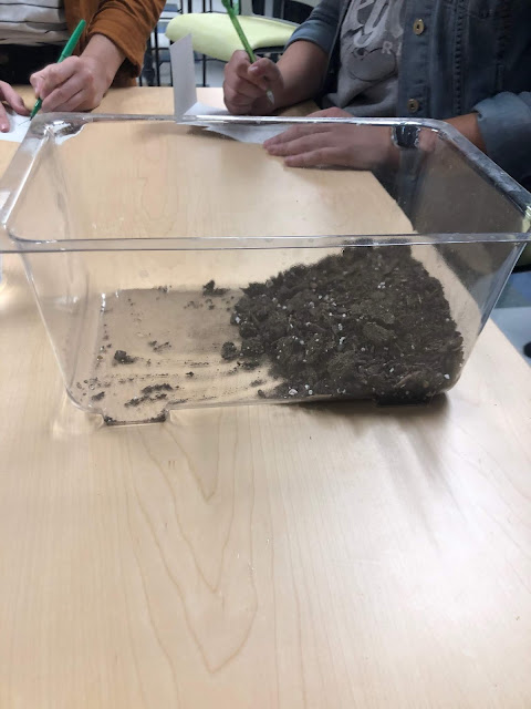 hands-on activity for changing land
