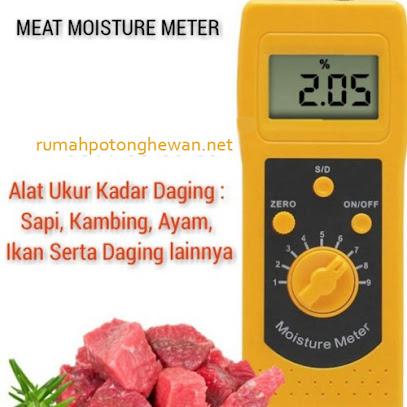 Ukur Kadar Air Daging Meat Moisture Meter DM300R
