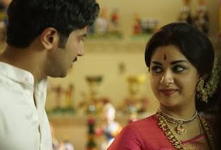 Keerthy Suresh in Saree in Mahanati Working Stills 2