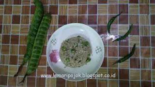 resep nasi goreng petai cabai hijau