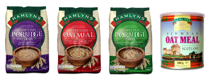 Hamlyns of Scotland porridge oats