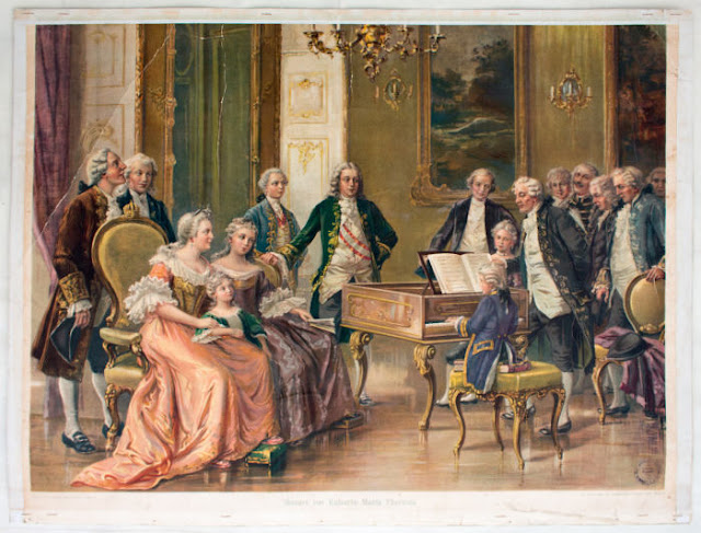 Rainha Maria Teresa e Mozart
