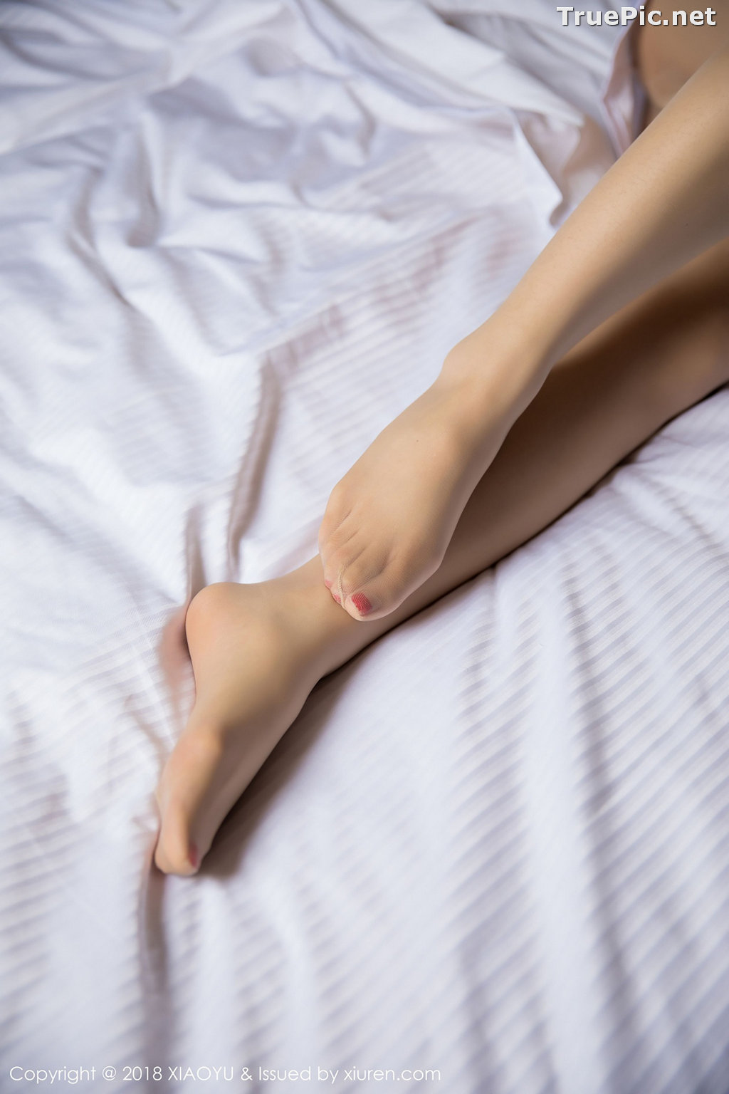 Image XiaoYu No.004 - Chinese Model - Xiao Reba (Angela喜欢猫) - White Sexy Nurse - TruePic.net - Picture-56