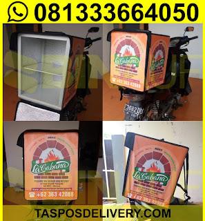 Produsen Tas delivery pizza Lacabana Jakarta bandung bogor tangerang bekasi jogja solo semarang malang surabaya bali banjarmasin batam