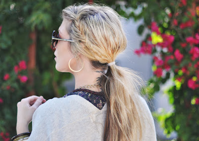 Romantic Side Ponytail Hairstyles #Hairstyles