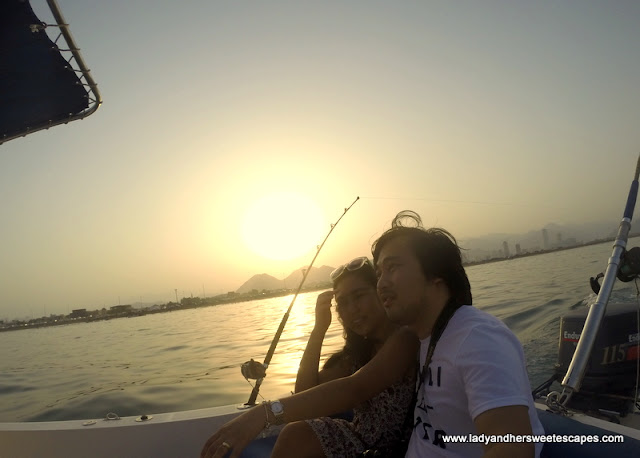 Ed and Lady in Fujairah