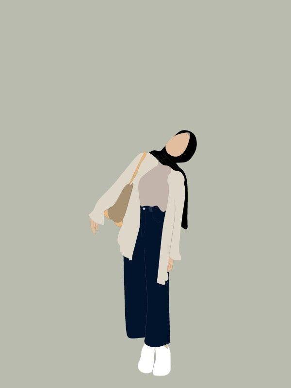 Profil wa gambar kartun hijab keren. Gambar Pp Whatsapp Hijab Aesthetic Kartun Hd Download Hallyuid