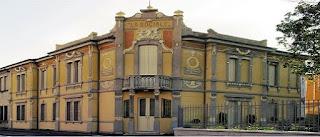 The Palazzina Mondadori in Ostiglia now houses Arnoldo Mondadori's book collection