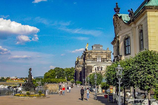 Brühlsche Terrasse, Dresden, Alemanha