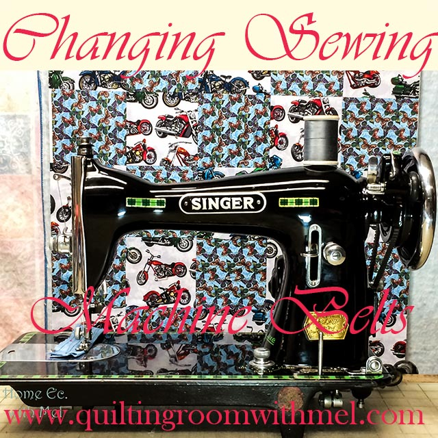 Replacing Vintage Electric Sewing Machine Belts The Quilting Room Enchanting Singer Sewing Machine Belts