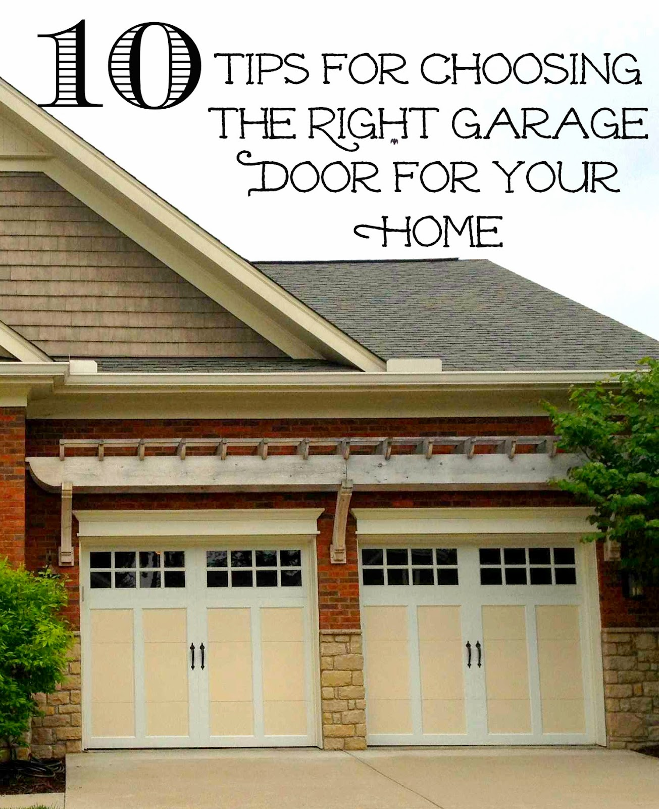 Charming Garage Door Replacement: 10 Tips For Making The Right Choice