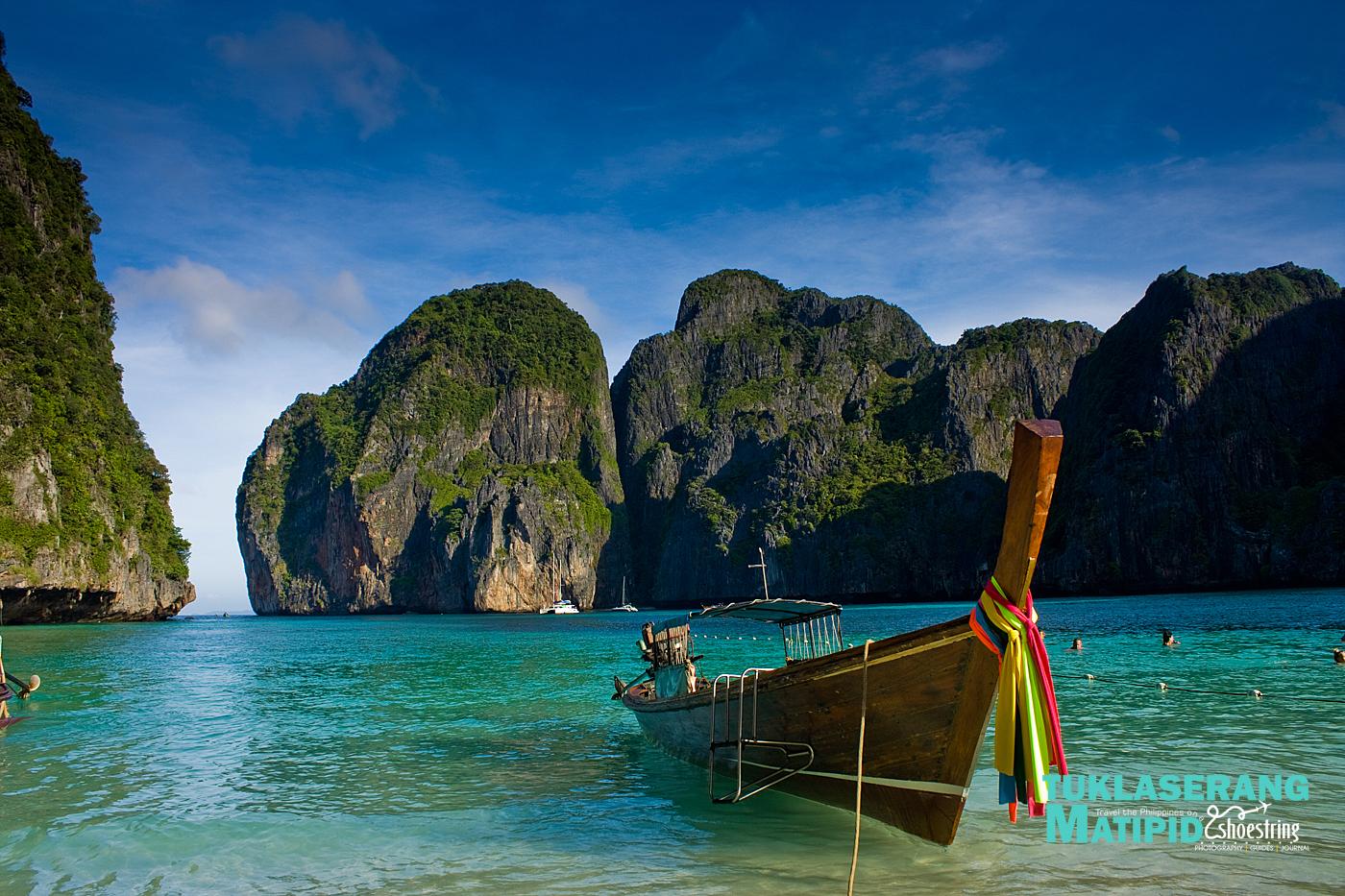 Beautiful Maya Bay in Phuket