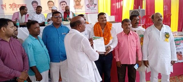 जौनपुर: प्रधान संगठन का अध्यक्ष चुने जाने पर हर्ष