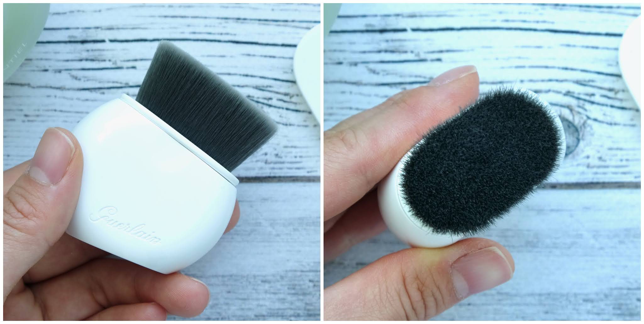 Guerlain | L'Essentiel Retractable Foundation Brush: Review and Swatches