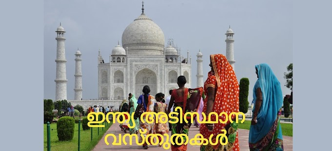 Kerala PSC ഇന്ത്യ പ്രധാന അടിസ്ഥാന വസ്തുതകൾ