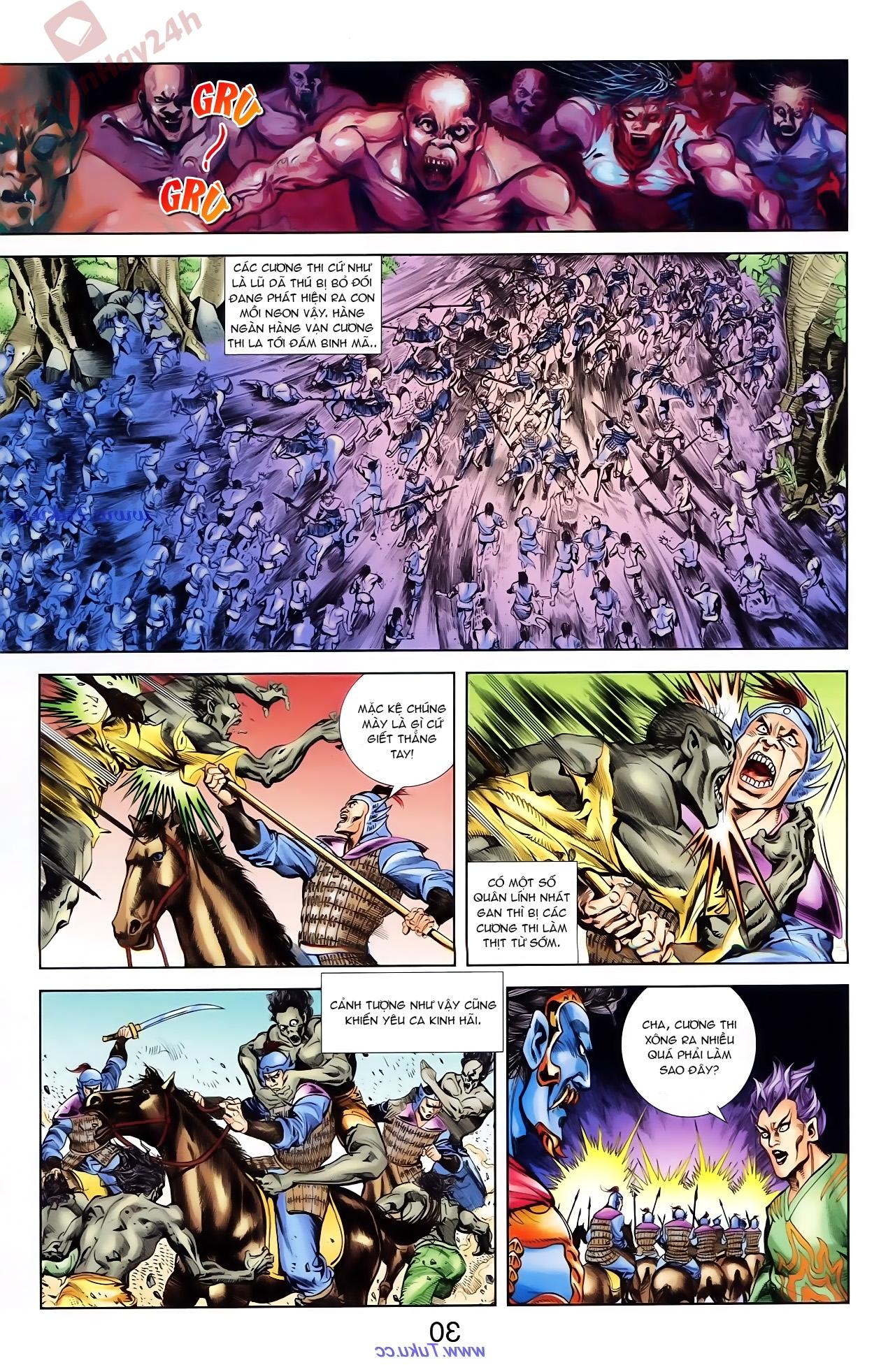 Cơ Phát Khai Chu Bản chapter 76 trang 14
