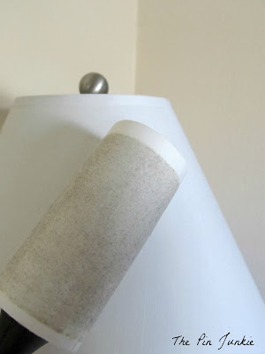 how to clean a lamp shade