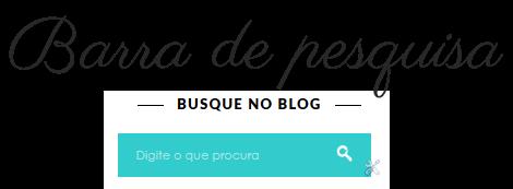 caixa de pesquisa personalizada para blogger