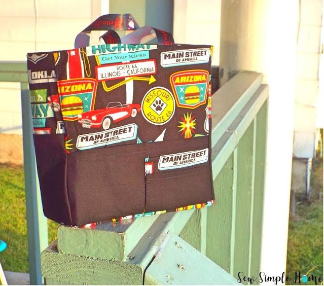 diy bag organizer