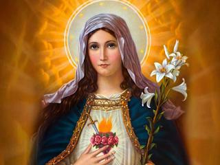 Cantos missa Imaculado Coração Maria