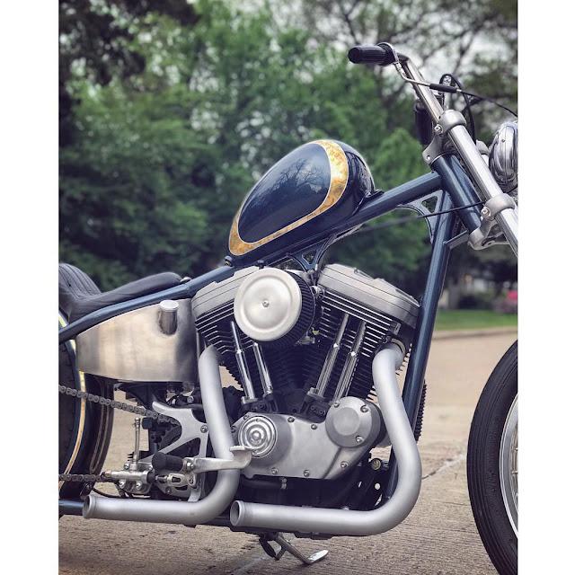 Harley Davidson By Silverback Moto Hell Kustom