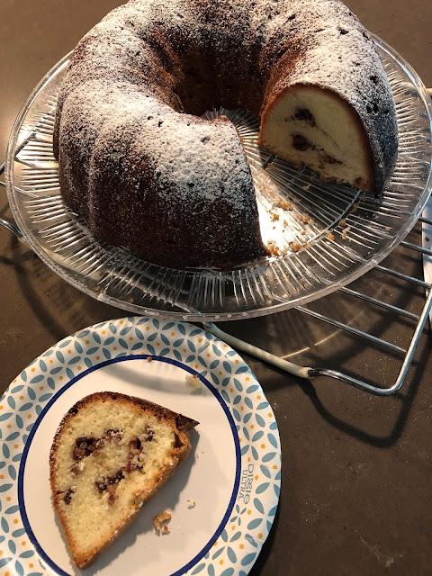 Wellesley Coffee Cake with Pecan Streusel