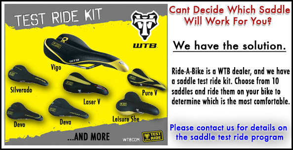 5ef7c50dc87 Test A New Saddle Before You Purchase It at Ride-A-Bike Shop!