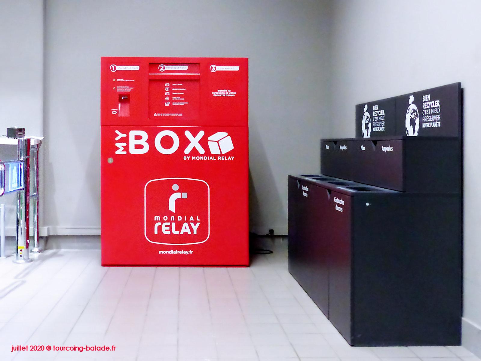 My Box Mondial Relay, Tourcoing Centre