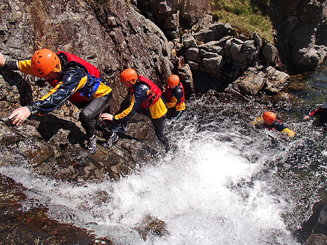 Ghyll Scrambling Insurance Outdoor Activity Lake District Legal Insure Public Liability
