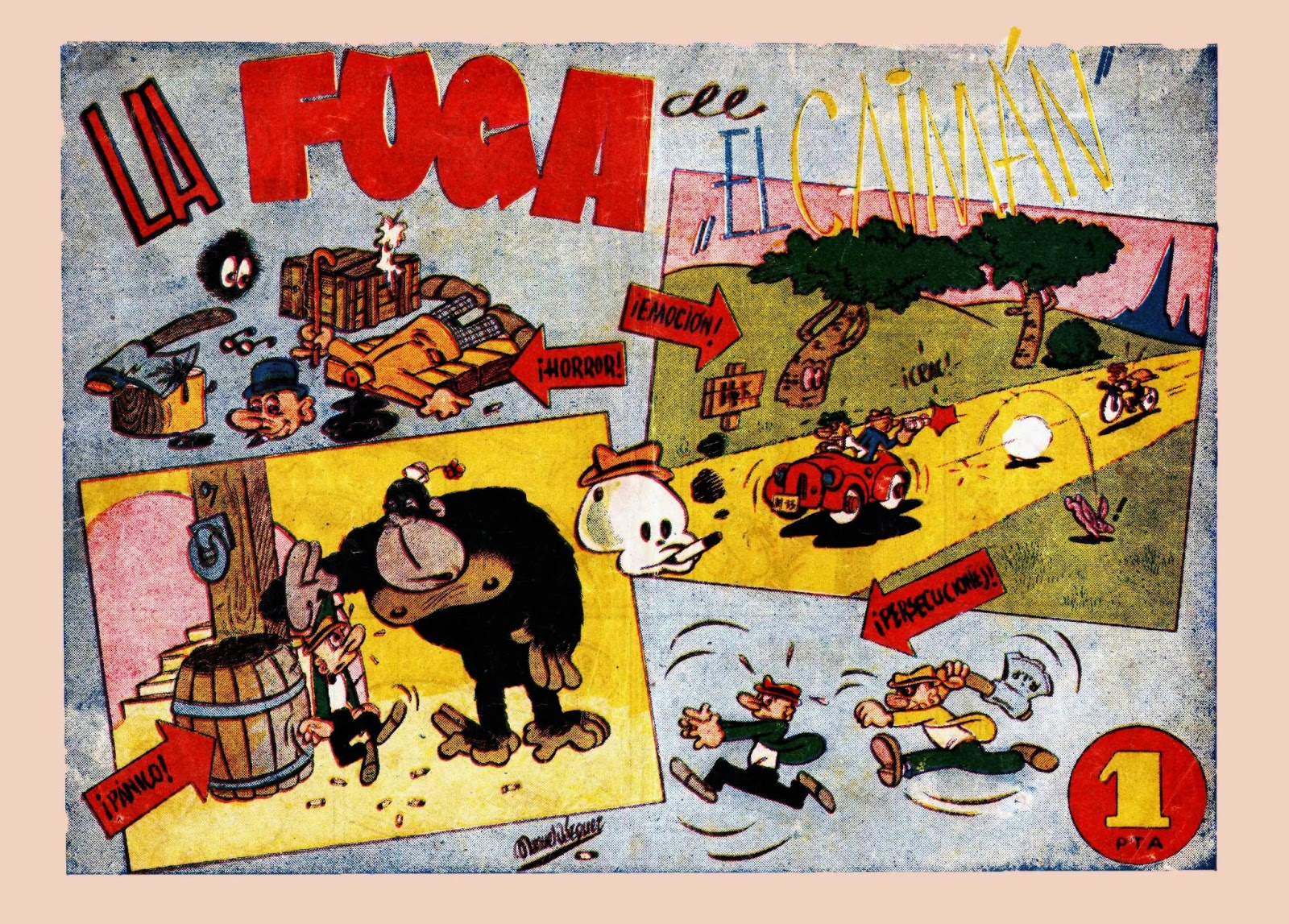 La fuga de el Caimán, 1947, Ibero Americana