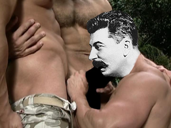 Любимое порно сталина