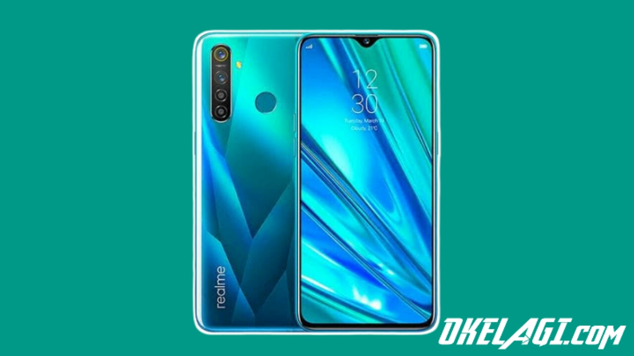 Cara Screenshot Realme 5
