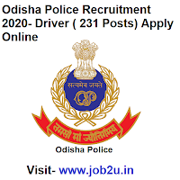 Odisha Police Recruitment 2020, Driver