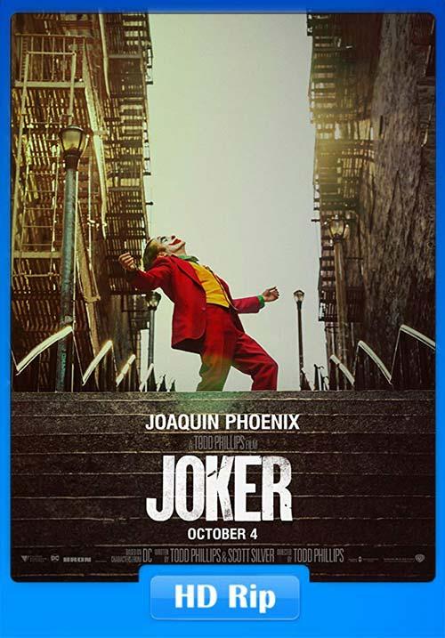 Joker 2019 720p HC HDRip x264 | 480p 300MB | 100MB HEVC