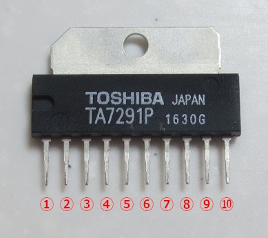 モータードライバ TA7291P