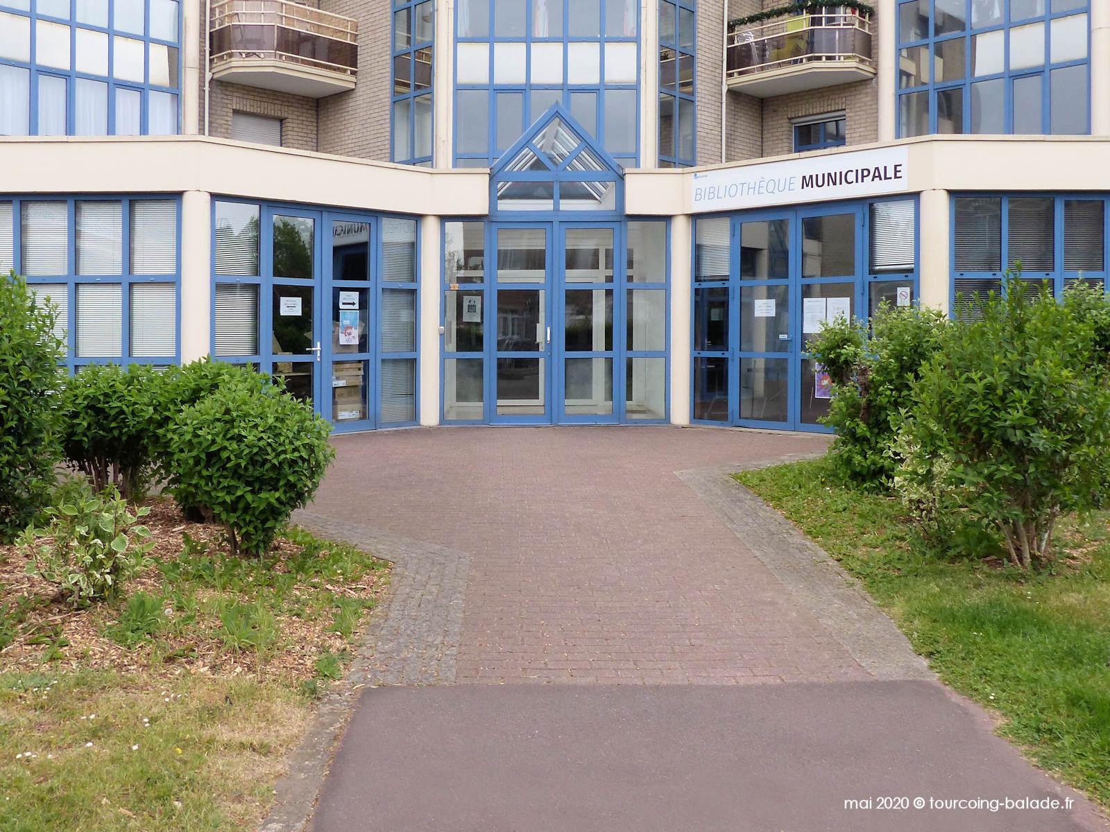 Bibliothèque Wasquehal Van der Meersch, 2020