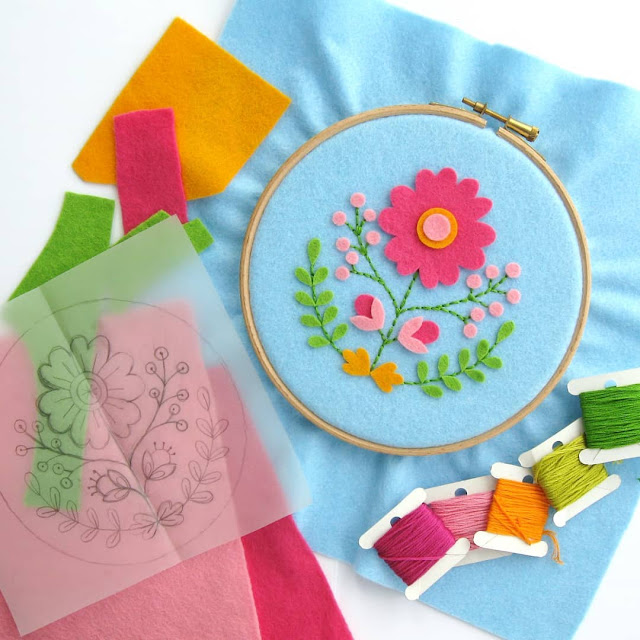 Floral Hoop Art Pattern: Coming Soon!