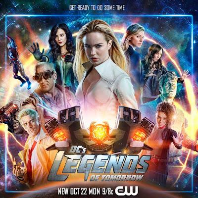 """cuarta temporada de """"DC's Legends of Tomorrow."""
