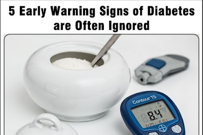 5 Early Warning Signs of Diabetes are Often Ignored