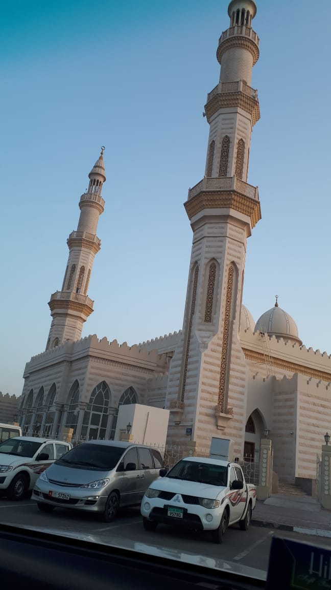 A Beautiful Mosque in United Arab Emirates Guess the place