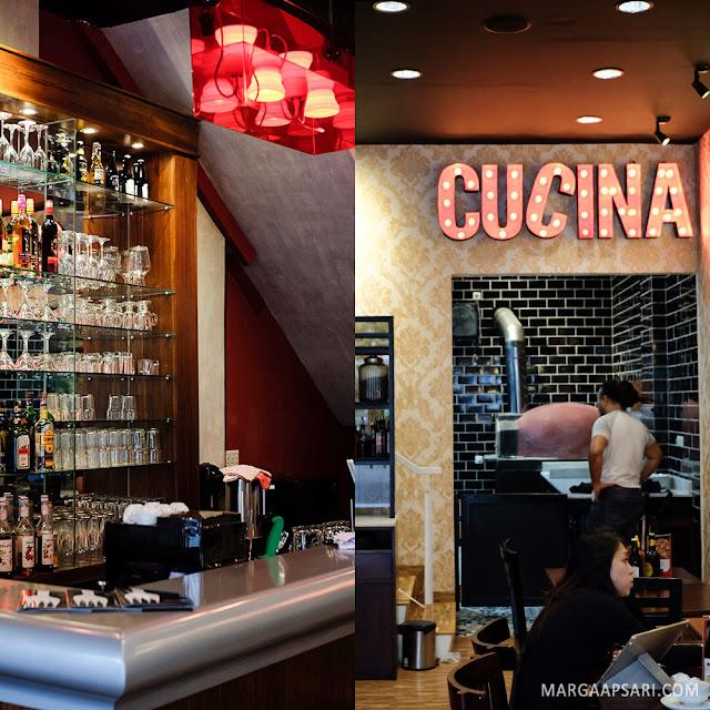 LA CUCINA Pizza e Pasta Resto Citra Garden, Jakarta, Review