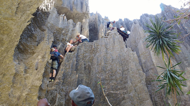 tsingy bemaraha grande rock climb