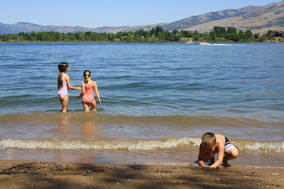 Pineview Reservoir Huntsville Utah swimming beach