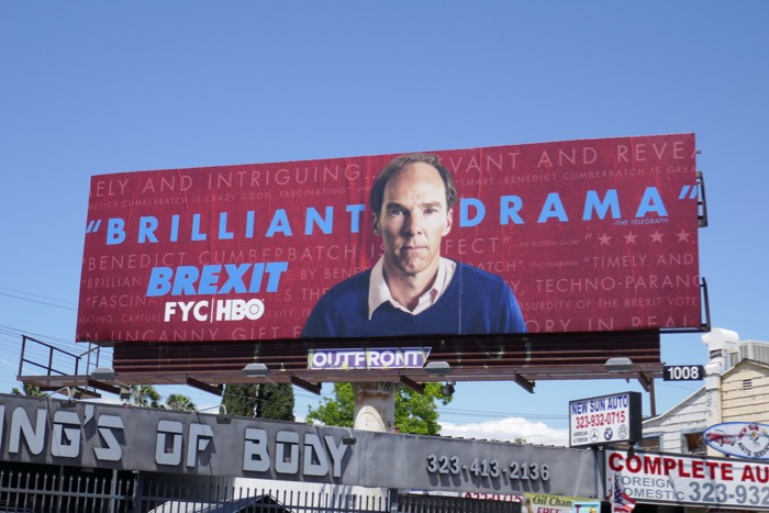 Brexit 2019 Emmy consideration billboard